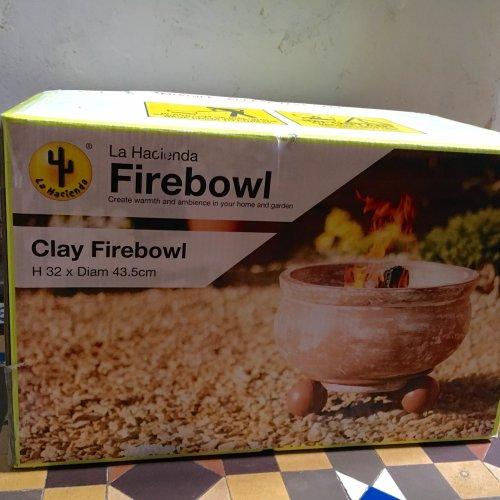 Fire bowl £12.50 @ Tesco - York