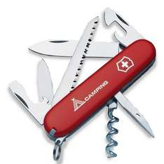 Red Victorinox Camper Swiss Army Knife Multi-Tool £12 (+£2 C&C) £14 at Tesco Direct