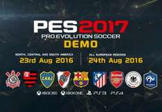 Pes 2017 demo to be released 24th August
