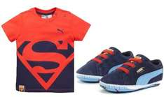 Puma Superman Baby Tee and Bootie Gift Set (was £28.00) now £14.00 C&C at Very