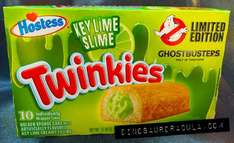 Key Lime flavour, Limited Edition Twinkies, 10 for £1 @ Home Bargains