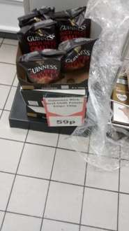 Beef chilli and Guinness crisps only 59p at Heron Foods.