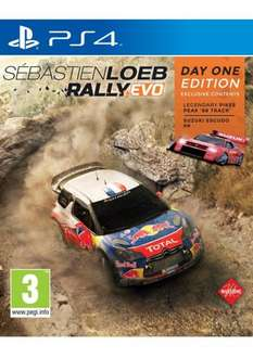 Sebastien Loeb Rally EVO - Day One Edition Incls Extra DLC (PS4)  £9.99 delivered @ Simply Games