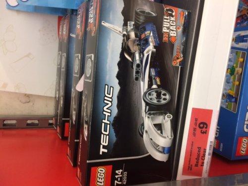 Lego Technic 'Record Breaker' 42033 Drag Racer Half Price £9 in Sainsburys Team Valley (Gateshead)