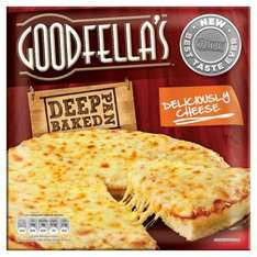Goodfella's Deep Pan Baked Loaded Cheese (417g) (Frozen) Better Than Half Price was £2.50 now £1.00 @ Tesco