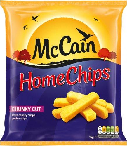 McCain Home Chips Chunky Cut (1Kg) was £2.60 now £1.30 @ Tesco