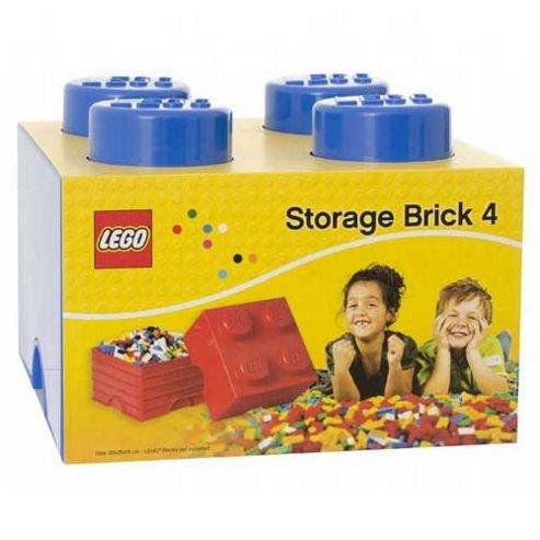 LEGO Storage Brick 4 Blue £8.03 Tesco  On Line plus £2 C&C