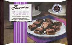 Thorntons Chocolate Caramel Fudge Brownie Bites / Caramel Shortcake (10 in a Pack) Half Price was £1.40 now 70p @ Tesco