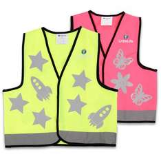 LittleLife Reflective Safety Vest in Yellow Rocket or Pink Butterfly (was £7.99) Now £2.00 C&C at Boots