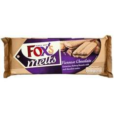 Fox's Viennese Chocolate Melts (120g) 2 for £1.00 @ Poundland