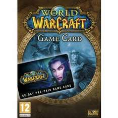 world of warcraft 60 days £17.69 @ Argos