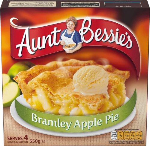 Aunt Bessie's Bramley Apple Pie Family Size (550g) was £1.50 now £1.00 @ Tesco