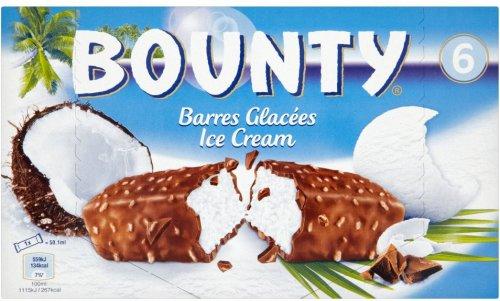 Bounty Ice Cream Bars (6 x 50.1ml) / Mars Ice Cream (6 x 51ml) / Snickers Ice Cream Bars (6 x 48ml) was £2.50 now £1.50 @ Sainsbury's