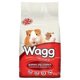 Wagg guinea pig crunch £1.78 @ Asda