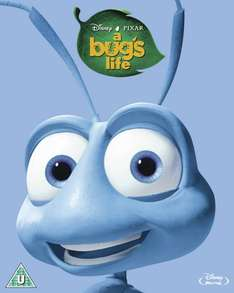 [Blu-ray] Disney Pixar's A Bug's Life & Bolt £5.99 each in store @ Hmv (online £7.99 incl del / free click and collect)