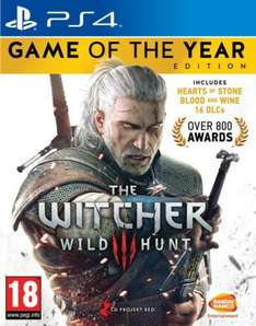 The Witcher 3: Wild Hunt - Game of the Year Edition (PS4/XO) £29.97 Delivered @ Gamestop