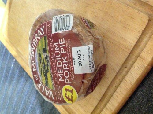 Medium pork pie £1 @ Iceland