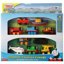 Thomas Take 'n' Play Favourite Friends Gift Set HALF PRICE! Toys R Us £24.99