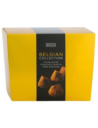 M&S Belgian Cocoa Dusted Chocolate Truffles Box (260g) Half Price £3.00 @ M&S