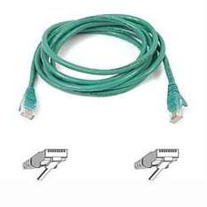 Belkin Cat5e Snagless UTP Patch Cable, 1 m - Green  34p @ Amazon [add on]