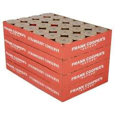 Frank Cooper's Oxford Strawberry Conserve, Pack of 96 £3.33 or 2 boxes for £3.71 @ Amazon