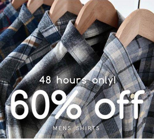 Brand Attic - 60% off men's shirts