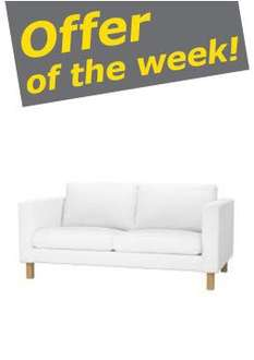 Karlstad Two-seat sofa at IKEA Manchester - reduced from £249 to £69