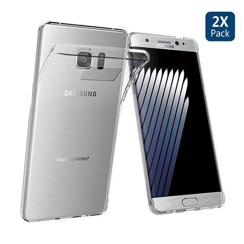 Samsung Galaxy Note 7 TPU Clear Case (2 pack)