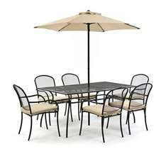 60% off Garden Table and Chairs, was £690, now £276 delivered @ Debenhams