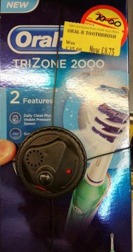 Oral-B TriZone Electric Toothbrush £8.75 @ Morrison's