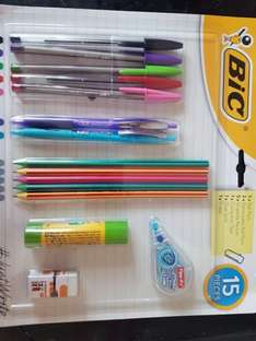 Bic stationary set £4 at Morrisons in store
