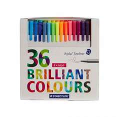 Staedtler Triplus Fineliner Brilliant Colours Pack 36 @ Ryman £14.99 plus free click & collect or £2.90 delivery