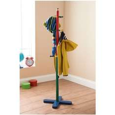 Kids pencil coat stand scanning at a pound in B&M Nantwich £1