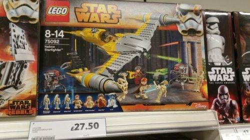 Lego Star Wars 75092 £27.50 Tesco
