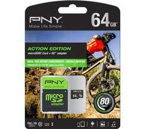 PNY 64GB class 10 High Performance microSD card £14.97 @ currys