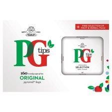 Pg Tips Fruit And Herb Tea Bags 160S tesco £2.34