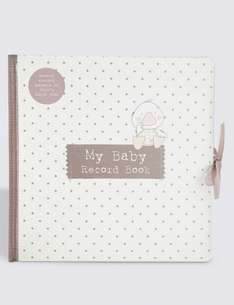 Baby Book (was £10) Now £4.00 C&C at Marks & Spencers