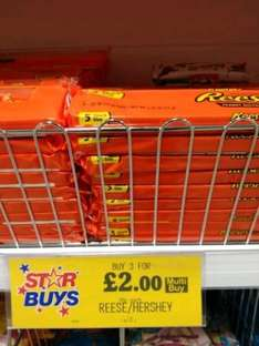 All Hersheys/Reeses priced 99p now 3 for £2 @ Home Bargains