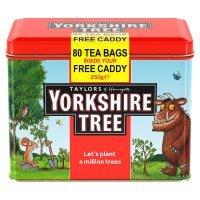 Yorkshire Tea 80 tea bags + FREE CADDY £1.17 @ waitrose