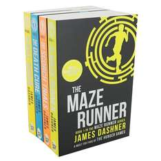 Complete Maze Runner Series 4 Book Set now £5 C+C @ The Works