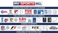 sky sports mix channel FREE for all - Great sports in every home  @ sky