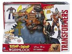Transformers Age of Extinction Grimlock Stomp and Chomp Action Figure - £49.99 @ Sold by Gameseek and Fulfilled by Amazon.