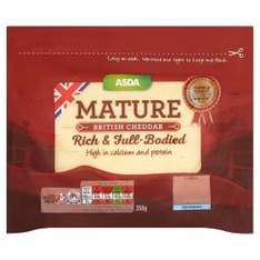 ASDA Mature Cheddar 700g for £3 (350g for £2 or 2 for £3)