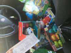 Tesco Instore clearance on toys fisher price,crayola, power rangers £2.50 minecraft figures £5.50 talking peppa pig £3.75 talking Thomas £2.50 and more