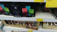 Remote Control Colour Changing Candles £6.99 @ B&M