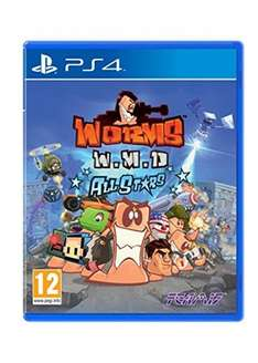 Worms WMD All Stars (Includes Pre-Order Edition DLC) (PS4) £16.85 @ Base.com