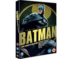 Batman Animated Collection - BLURAY - £15 - Sainsbury's INSTORE