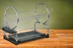 B&M : £5 for 2-Tier Deluxe Drainer Stylish Chrome [instore / all stores]