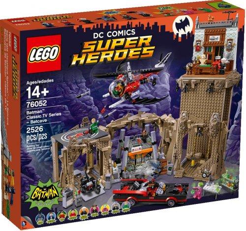 LEGO DC Comics Super Heroes Batman Classic TV Series Batcave 76052 £183.99 [Was £229.99] @ Smyths