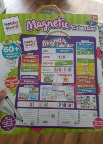 Magnetic calendar 50p in B&M Glenrothes